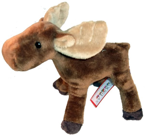 """Lumber Jack"" Moose Plush Toy"