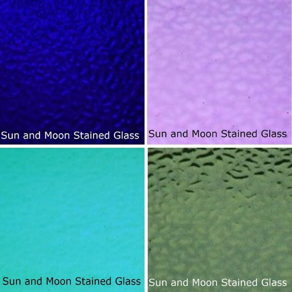 Wissmach Stained Glass Sheet Pack B