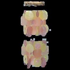 Capiz Wind Chimes - Medium (3 color choices)