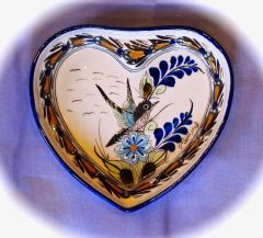 Heart Shaped Bird Plate
