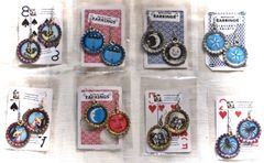 Bottle Cap Earrings - Miscellaneous Images