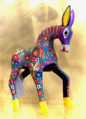 Colorful Oaxacan Horse