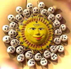 Sun with Calaveras