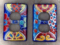 Talavera outlet plates