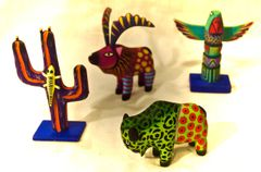 Medium sized Oaxaca Animal Carvings