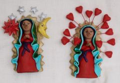 Small Our Lady of Guadelupe Sculptures - out of stock