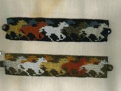 Beaded Bracelets - Horses