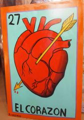 "Painting ""El Corazon"""