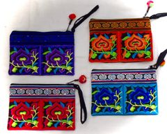 Embroidered Bags - Medium (only blue available)