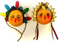 Coconut masks - Fancy Ladies