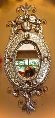 Natural Tin Nido Mirror