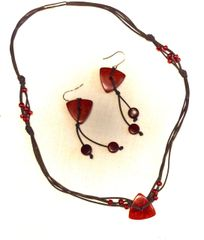 Belladonna Tagua Necklace