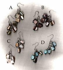 Multi-dangle Shell Earrings