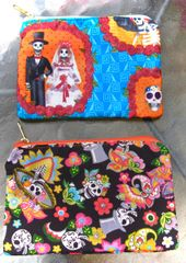 Calaveras Zipper Bags