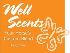 Well Scents Custom Blend for Horses - 2 oz.