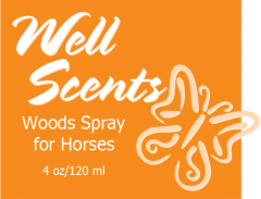 Well Scents Woods Spray for Horses
