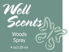 Well Scents Woods Spray