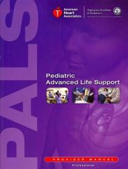 PALS Initial (Pediatric Advanced Cardiovascular Life Support) March 2 2019