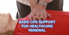 Basic Life Support For Healthcare (BLS) RENEWAL Call or Text (713) 408-2934 to schedule