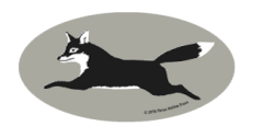 Laptop, Cell Phone & Helmet Sticker: Fox - Item # HS Fox