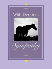 Sympathy Card: With deepest sympathy - Item # GC 3 Sympathy
