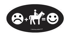 Laptop, Cell Phone & Helmet Sticker: Frown, Ride then Smile! - Item # HS Smile