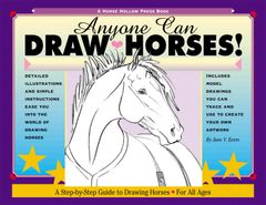 Horse Book: Anyone Can Draw Horses