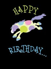 Birthday Card: Happy Birthday! - Item # GC Bucking