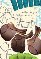 Birthday Card: Tis better to give than receive! - Item # GC B Tack