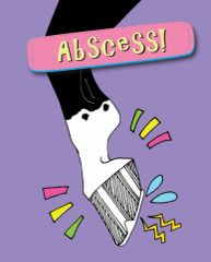 Birthday Card: Abscess! - Item# GC B Abscess