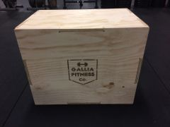 Gallia Fitness Flat Pack 3-IN-1 Wood Plyo Box