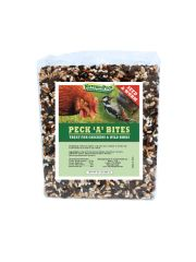 "Peck 'A' Bites (2) x7"" JUMBO Seed & Worms Block for Chickens and Wild birds"