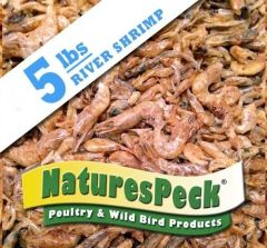 Dried River Shrimp LARGE (0.5-1 inch) - 5 lb Bag