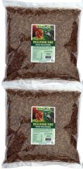 10 lbs-Dried Mealworms, Mealworm Time® (2 x 5 lbs resealable bags)