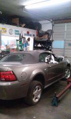 2000 Mustang 3.8 auto convertible