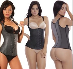 LATEX VEST (thin straps or thick straps) - aggressive waist trainer (14-21 days to receive)