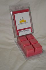 Peppermint Triple Scented Wax Melts (One Triple Scented Shell Holds 6 Cubes)