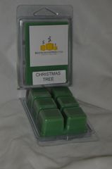 Christmas Tree Triple Scented Wax Melt (6 Cubes Per Shell)