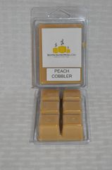 Peach Cobbler Triple Scented Wax (6 Cubes Per Shell)