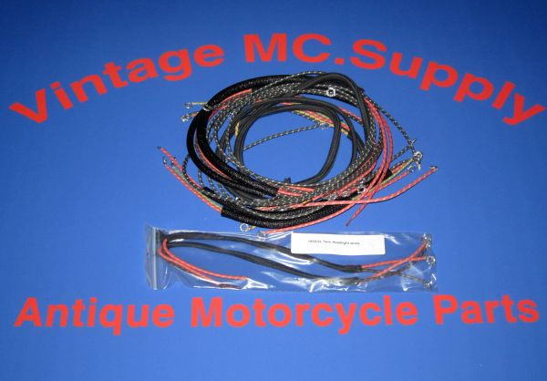 1930 VL, Twin Headlight Wiring Kit