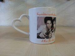 Heart Handled Mug