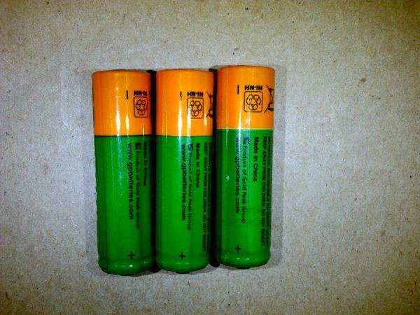 VFBATBU5 - AA 1.2V 1300mA NiMH Rechargeable Batteries