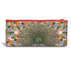Peacock Recyclable Pencil Bag