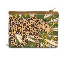 Jaguar Canvas Coin Bag