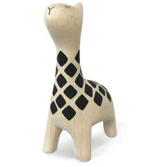 White Pure Wood - Giraffe