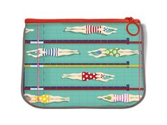 Swimmer Fabric Pouch