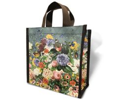 Flower Garden - Recycled Lunch Bag