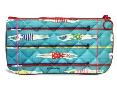 Swimmer Pencil Pouch - Quilted