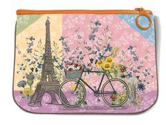 Paris Trip Fabric Mini Pouch