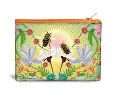 Happy Bees Recyclable Coin Bag